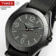 【TIMEX】 タイメックス EXPEDITION エクスペディション オールブラック ナイロンベルト インディグロナイトライト 50M防水 メンズ 腕時計 T49933 MEN'S ウォッチ