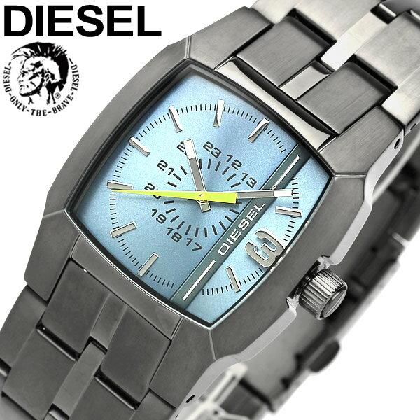 【送料無料】DIESEL ディーゼル クオーツ 腕時計 ウォッチ メンズ 男性用 5気圧防水 ガンメタル アナログ3針 ステンレス dz1602