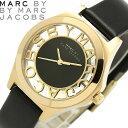 エントリーで最大P4倍 【送料無料】MARC BY MARC JACOBS マークバイマークジェイコブス ヘンリースケルトン 腕時計 ウォッチ レディース うでどけい クオーツ 5気圧防水 mbm13