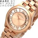 【送料無料】MARC BY MARC JACOBS マークバイマークジェイコブス ヘンリースケルトン 腕時計 ウォッチ うでどけい レディース クオーツ 5気圧...