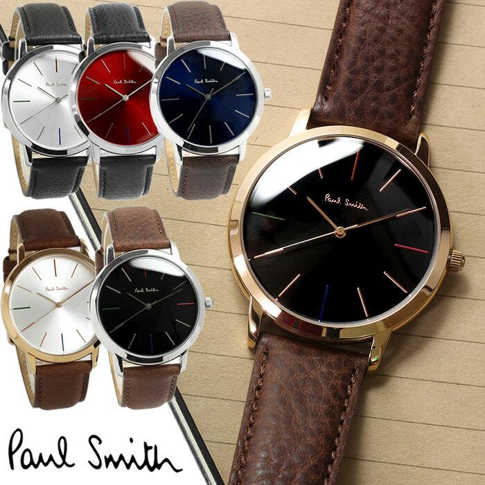 【送料無料】ポールスミス Paul Smith 腕時計 メンズ 革ベルト MA 41mm 本革レザーベルト クラシック ブランド 人気 ウォッチ ギフト プレゼント P10051 P10052 P10053 P10056 P10057 P10059