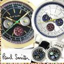 【送料無料】Paul Smith ポールスミス 腕時計 うでどけい ウォッチ メンズ 男性用 クオーツ 5気圧防水 クロノグラフ ステンレス レザー ps05