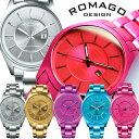 【ROMAGO】ROMAGO ロマゴデザイン 腕時計 メンズ レディース ユニセックス アルミ製 RM029-0290AL ウォッチ