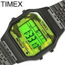 TIMEX タイメックス 80 デジタル メンズ レディース ユニセックス 迷彩 カモフラ 腕時計 ウォッチ カジュアル ステンレスベルト 3気圧防水 TW2P67100