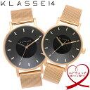 【送料無料】KLASSE14 クラスフォーティーン ペアウォッチ 腕時計 ウォッチ 42mm×36mm メンズ レディース メッシュベルト VOLARE vo16r..