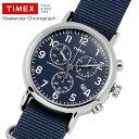 TIMEX タイメックス ウィークエンダー クロノグラフ ナイロンNATOストラップ 腕時計 クオー...