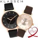 【ペア価格】ペアウォッチ KLASSE14 クラスフォーティーン 腕時計 42mm×36mm メンズ