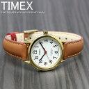 TIMEX タイメックス 腕時計 イージーリーダー 40周年記念モデル レディース TW2R40300 ブランド 人気 革 レザー ゴールド ブラウン 父..