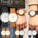 ペアウォッチ TIMEX タイメックス 腕時計 メンズ レディース ウィークエンダー フェアフィールド クラシック 革ベルト レザー 41mm ユ..