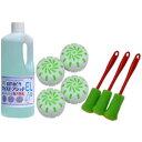 小便器清掃セット 業務用小便器の尿石除去・尿石付着防止 悪臭の原因尿石を徹底除去
