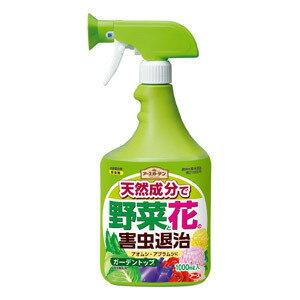 アース製薬アースガーデンナチュラルガーデントップ[1000ml]【農薬】... 有機栽培にオスス