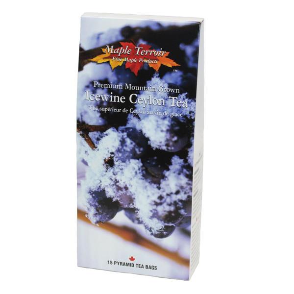 アイスワインティー 10箱 15ティーバッグ セイロン紅茶にアイスワインの香り 甘くないのでクッキーと相性抜群