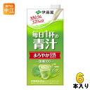 伊藤園 毎日1杯の青汁 まろやか豆乳ミックス 1L 紙パック 6本入(野菜ジュース)