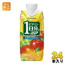 伊藤園 ビタミンフルーツ 1日分のビタミン12種 330ml 紙パック 24本 (12本入×2 まとめ買い)