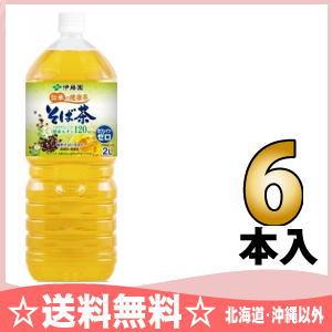6 healthy tea-buckwheat noodles tea 2L pet Motoiri [soba tea caffeine zero] where Ito En, Ltd. is fragrant