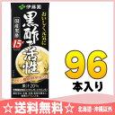 伊藤園 黒酢で活性 200ml紙パック 24本入×4 まとめ買い〔栄養機能食品 〕