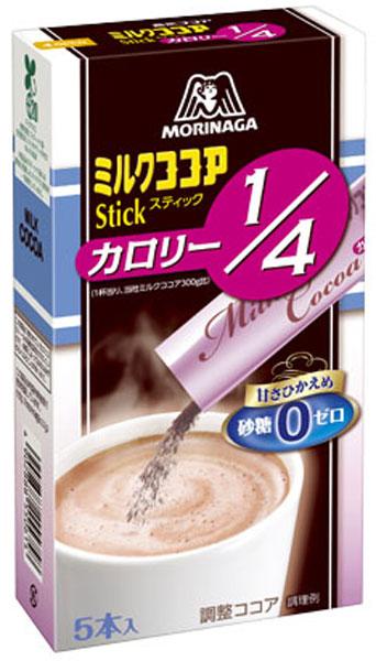 森永製菓 ミルクココア カロリー1/4 5本入...の紹介画像2