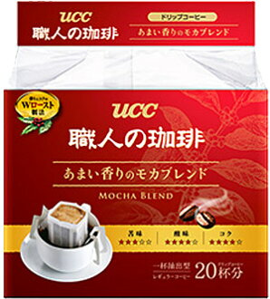 UCC artisan coffee drip coffee sweet aroma Mocha blend 20 servings × 12 bags []