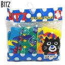 【20%OFFSALE】ビッツ(BIT'Z)BOY'S 3Pちびソックス(10-12 )F.O.KIDS¥1000→¥800(税抜)