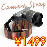 【】デジタル一眼カメラからミラーレス一眼カメラやコンパクトカメラにも最適な斜めがけカメラストラップ 男子女子(メンズ レディース)男女兼用デザイン OLYMPUS PEN NEX