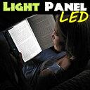 [送料無料]今話題のブックライト卓上スタンド感覚の読書用照明(ブックライト) 読書用照明(ブックライト) 持ち運びも楽々な読書ライト 夜の機内や車内、寝室などで隣に迷惑をかけずに読書が楽しめる実に画期的なLEDパネルライト 文庫 新書
