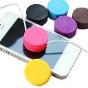 [送料無料]液晶画面も綺麗にするマカロンの様な可愛いイヤホン(イヤフォン)コード収納ケース[iphone/iPad/iPod touch/iPod nano/iPod s..