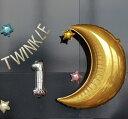 あす楽!TWINKLE TWINKLE LITTLE STAR バースデーバルーン ガーランド 6点セット