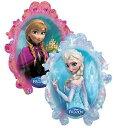 女の子のお誕生日やアナと雪の女王テーマパーティーにぴったりな等身大?エルサとアナのリバーシブルビッグ