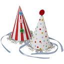 【Toot Sweet】カーニバルポンポンパーティーハット 8ピースセット