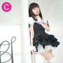 カーディナルメイド服(ブラック)【キャンディフルーツのオリジナルメイド服】【送料無料】【大きいサイズあり】