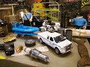 2008年フォード F-250 NYPDニューヨーク市警モデルのダイキャストミニカー(ボートトレーラー付き)1/43スケール ★アメリカ雑貨★アメリカン雑貨★アメ雑