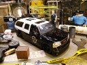 Jada 2002年GMCユーコン・デナリ・ポリスカーのダイキャストモデルカー 1/24スケール ★アメリカ雑貨★アメリカン雑貨