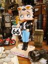 【FUNKO】バイカーベティールート66のボビンヘッド ■ アメリカ雑貨 アメリカン雑貨 アメキャラ アメコミ ヘッドノッカー
