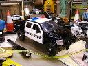 2011フォード F-150 SUTラプターのポリスカーのダイキャストモデルカー 1/24スケール ★アメリカ雑貨★アメリカン雑貨