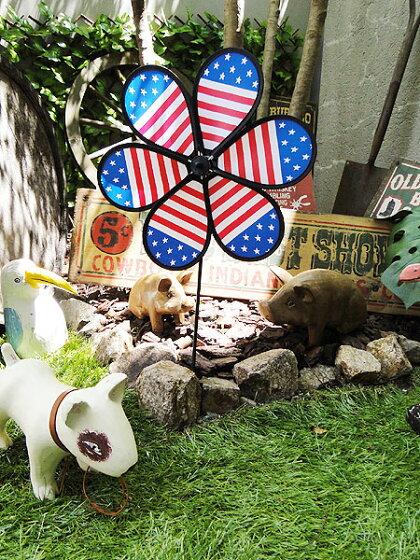 星条旗のウインドスピナー★アメリカ雑貨★アメリカン雑貨