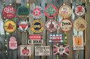 昔のアドバタイジングのウッドサイン(シリーズ第三弾人気ベスト5セット) ■ 木製 ウッド アメリカ 看板 サインプレート サインボード ..