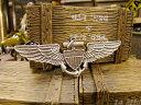 ミリタリーピンバッジ(U.S.ネイビー・アビエイター) ■ アメリカ雑貨 アメリカン雑貨 アメリカ 雑貨 ピンバッジ ファッション ピンバ..