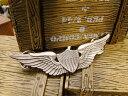 ミリタリーピンバッジ(U.S.アーミー・アビエイター) ■ アメリカ雑貨 アメリカン雑貨 アメリカ 雑貨 ピンバッジ ファッション ピンバ..