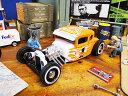 1929年フォード・モデルA ハーレーダビッドソン仕様のダイキャストモデルカー 1/24スケール(ファイヤーパターン) ★アメリカ雑貨★アメリカン雑貨★アメ雑貨★アメ雑 アメリカン雑貨 通販