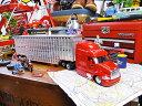 ピータービルト387のコンボイトレーラーのダイキャストモデルカー 1/43スケール ★アメリカ雑貨★アメリカン雑貨★アメ雑貨★アメ雑 アメリカン雑貨 通販
