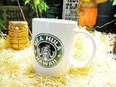 メアフラのハワイアンコーヒーマグ ■ こだわり派が夢中になる! 人気のアメリカ雑貨屋 アメリカ 雑貨 アメリカン雑貨 生活雑貨 おしゃれ 人気 ギフト プレゼント マグカップ カッコイイ男の部屋 タンブラー おもしろ ハワイ ハワイアン