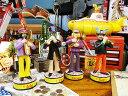 【全国送料無料】ビートルズ イエローサブマリンのボビンヘッド 4体セット ■ アメリカ雑貨 アメリカン雑貨