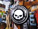 【全国送料無料】ハーレーダビッドソン スカルパブライト ■ アメリカ雑貨 アメリカン雑貨 harley davidson 鉄馬