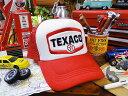 オイルカンパニーのメッシュキャップ(テキサコ) ★帽子★アメリカ雑貨★アメリカン雑貨