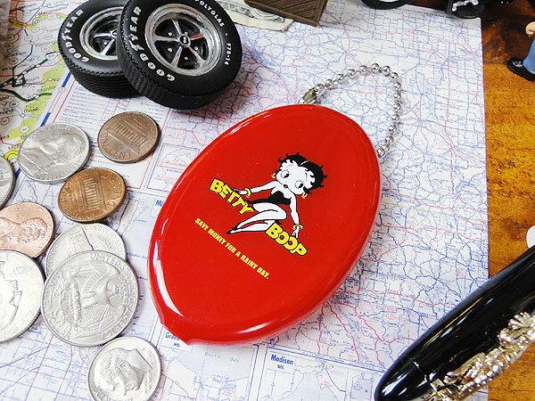 ベティ・ブープのラバーコインケース(レッド) ■...の商品画像