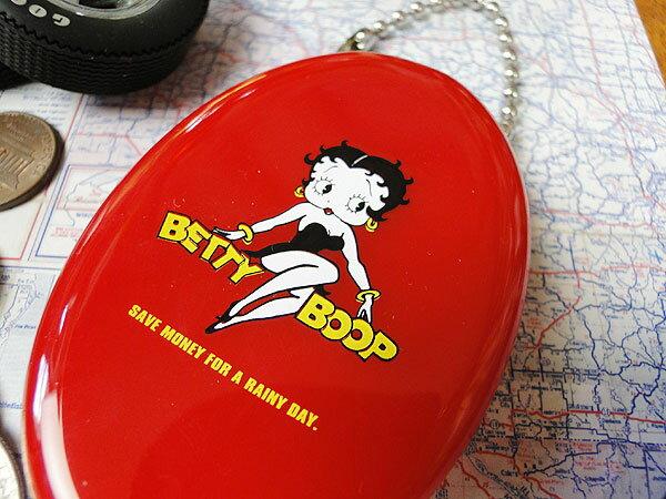 ベティ・ブープのラバーコインケース(レッド) ...の紹介画像2