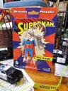スーパーマンのベンダブルキーチェーン ■ アメリカン雑貨 アメキャラ アメコミ こだわり派が夢中になる!アメリカ雑貨屋 テーマパーク キーホルダー