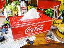 いやーやっぱり絵になります!yahoo トップに掲載! コカ コーラブランド ティッシュケース 「楽天1位」 ■ コカコーラグッズ 雑貨 グッズ ブランド Coca-Cola アメリカ雑貨 アメリカン雑貨 コーラ 置物 インテリア おしゃれ 人気 小物 こだわり派が夢中になる 男前