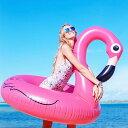 あのジャズティン・ビーバーがインスタにアップして海外セレブたちに大ヒット!【BIGMOUTH社】【正規品】おもしろ浮き輪 アメリカン・プールフロート(フラミンゴ) ■ アメリカン雑貨 浮輪 プール 海水浴 可愛い 大きい ビーチマット うきわ ナイトプール インスタ映え