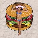 【BIGMOUTH社】【正規品】注目度300%の海外セレブ御用達アイテム♪ ハンバーガー・ビーチタオ...